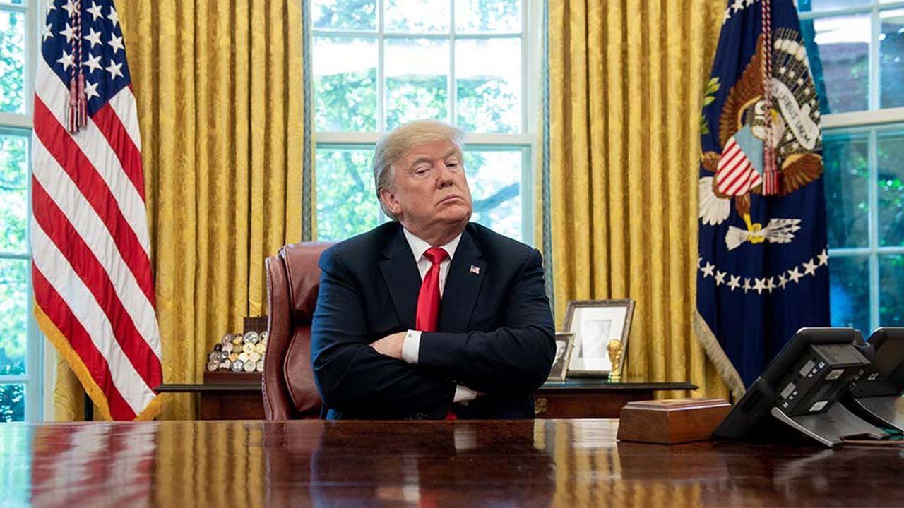 Donald Trumpest coutumier des déclarations niant le réchauffement climatique