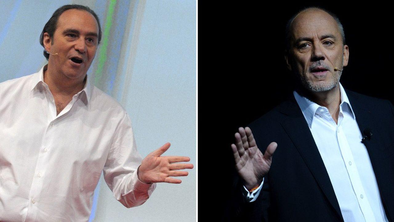 Xavier Niel etStéphane Richard pratiquent la keynote, destinée au lancement d'offres grand public, depuis plusieurs années.