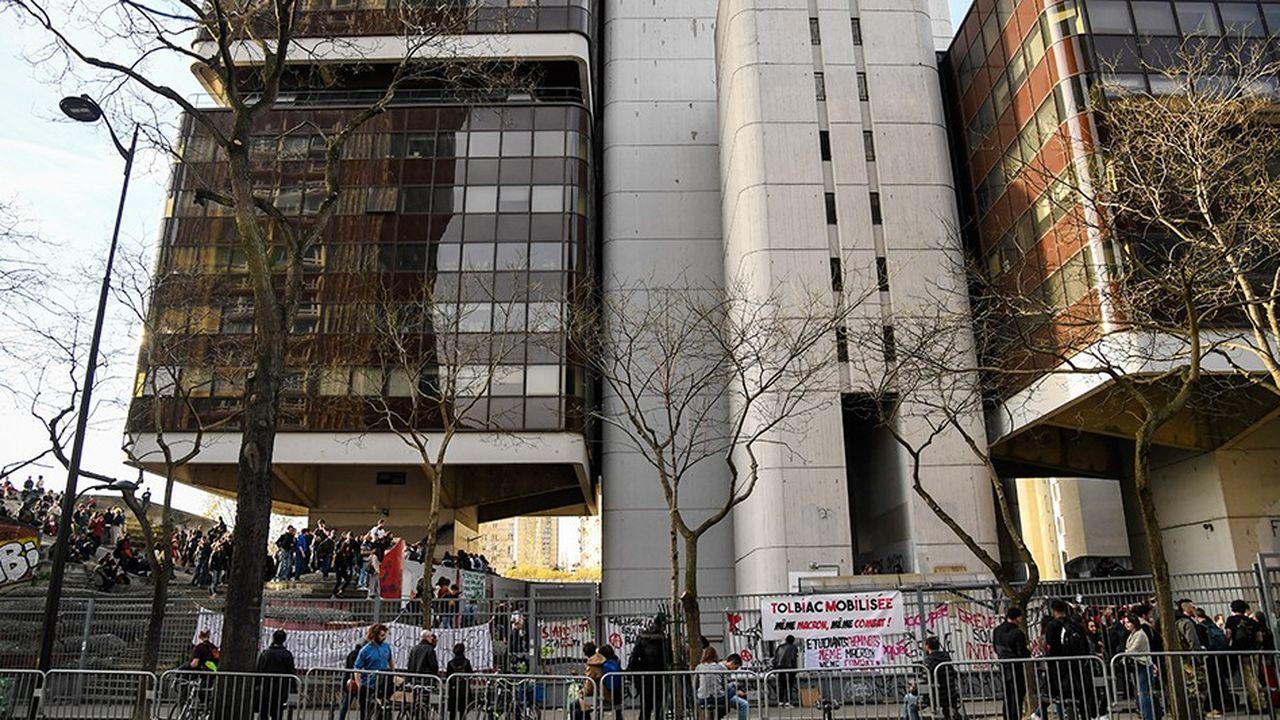 Au printemps, le site de Tolbiac avait été bloqué pendant un mois par des étudiants opposés à la loi d'Orientation et de réussite des étudiants (ORE)