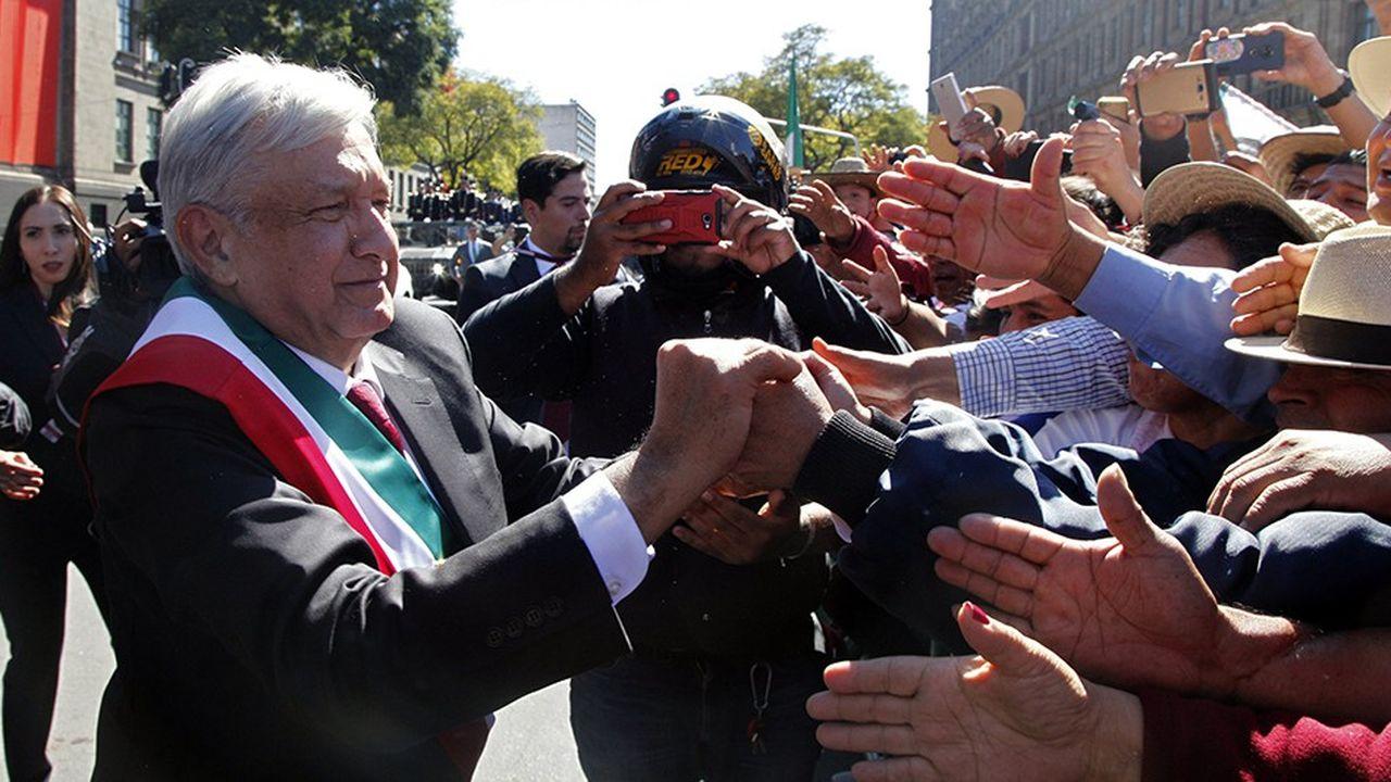 Le président Lopez Obrador veut transformer radicalement le pays.