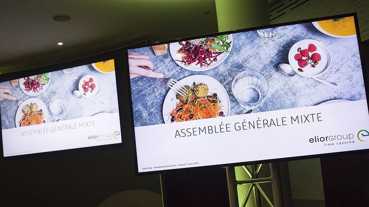Les résultats d'Elior, groupe de restauration collective et de services, ont déçu le marché.