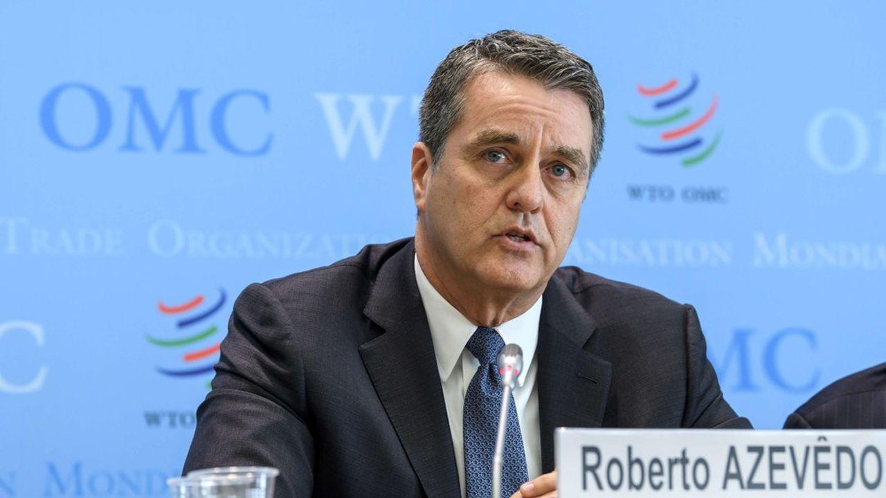 Roberto Azevedo dirige l'OMC depuis 2013. Cette institution est souvent attaquée par Donald Trump.