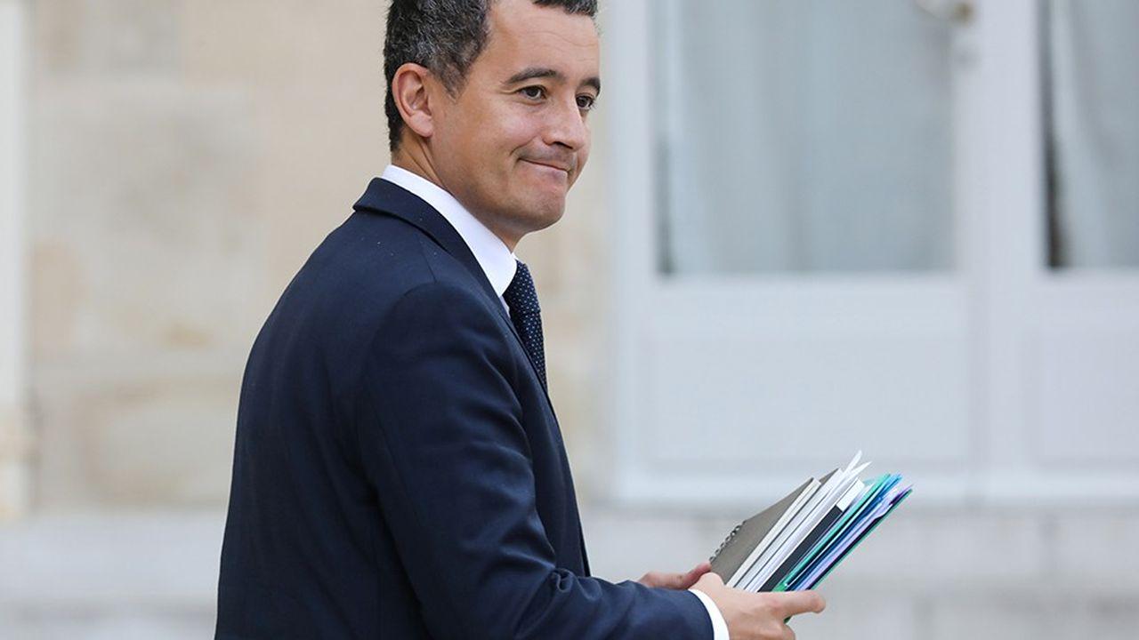 Gérald Darmanin, le ministre de l'Action et des Comptes publics, explique «ne pas être un fétichiste des chiffres».