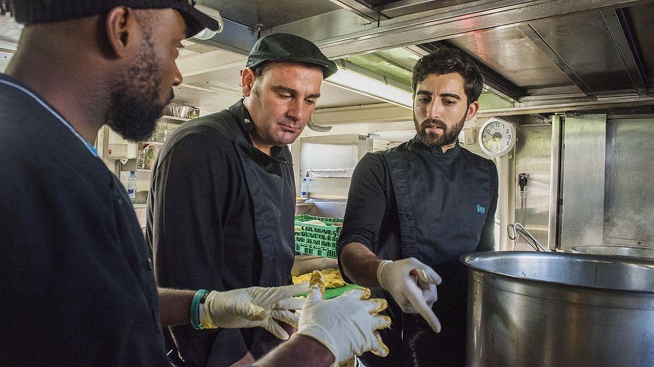 La restauration est l'un des secteurs qui oeuvre pour l'insertion des réfugiés