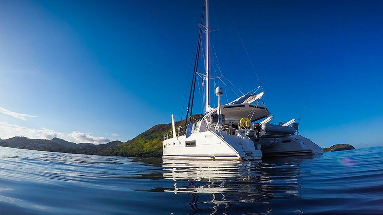 Lesgrands catamarans de croisière sont particulièrement recherchés par les loueurs.