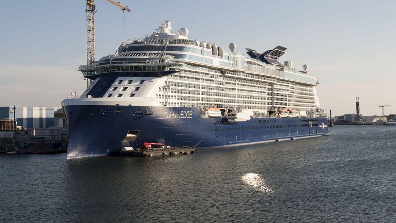 Octobre a été marqué par «un niveau exceptionnel des livraisons d'Airbus» un «pic de livraisons» de paquebots et de navires de croisière, dont le «Celebrity Edge»