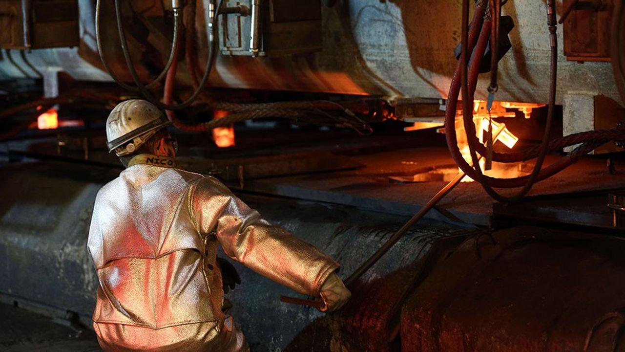 Créée en1975 par Vallourec, l'aciérie Ascoval de Saint-Saulve est en redressement judiciaire depuis janvier.