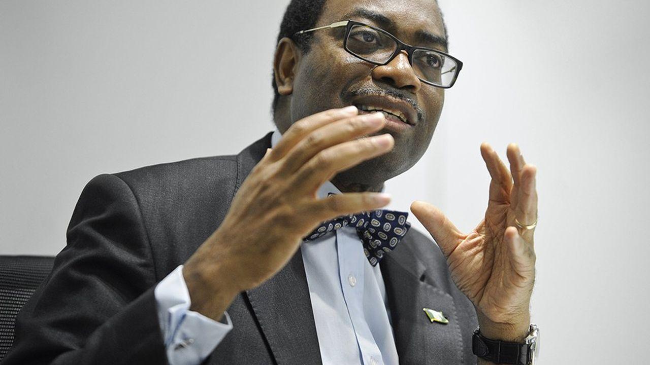 Akinwumi Ayodeji Adesina, ancien ministre nigérian de l'Agriculture et du Développement rural, a été élu en 2015, 8e président de la Banque africaine de développement