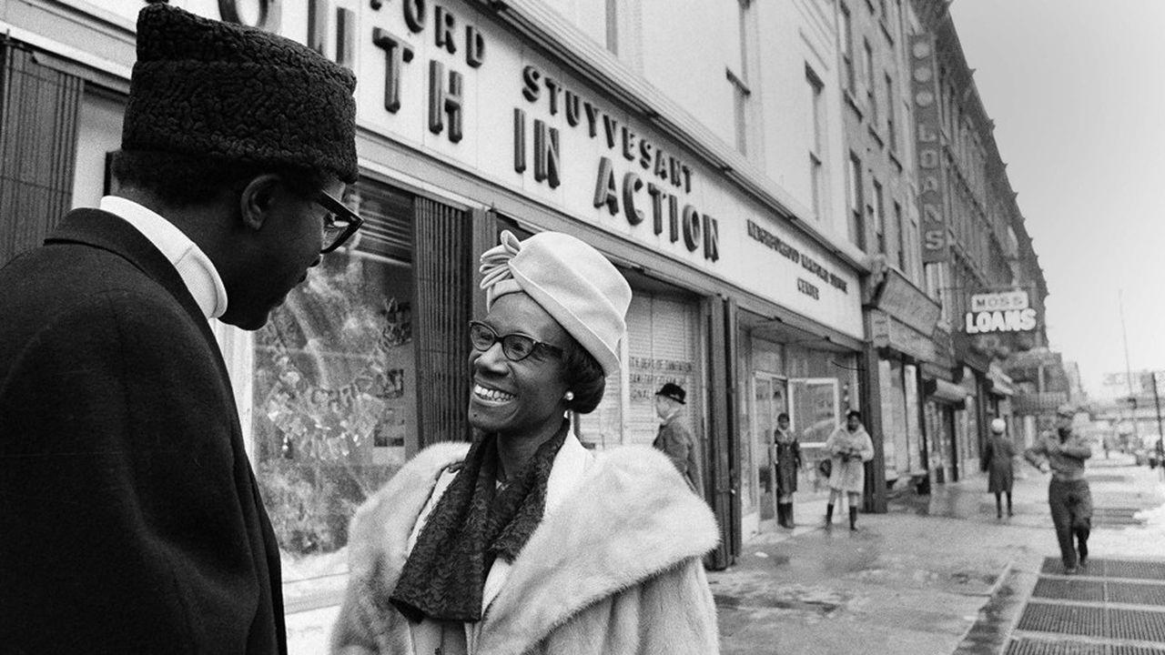La première statue honorera Shirley Chisholm, première élue noire au Congrès