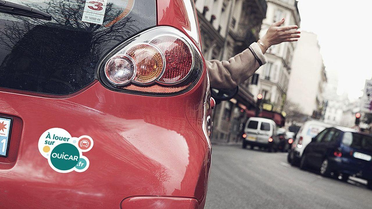 Ouicar, initialement positionné sur la location de voitures entre particuliers, a fait évoluer son positionnement vers l'autopartage. La SNCF, qui contrôle la jeune pousse, cherche une alliance avec un autre acteur du secteur.