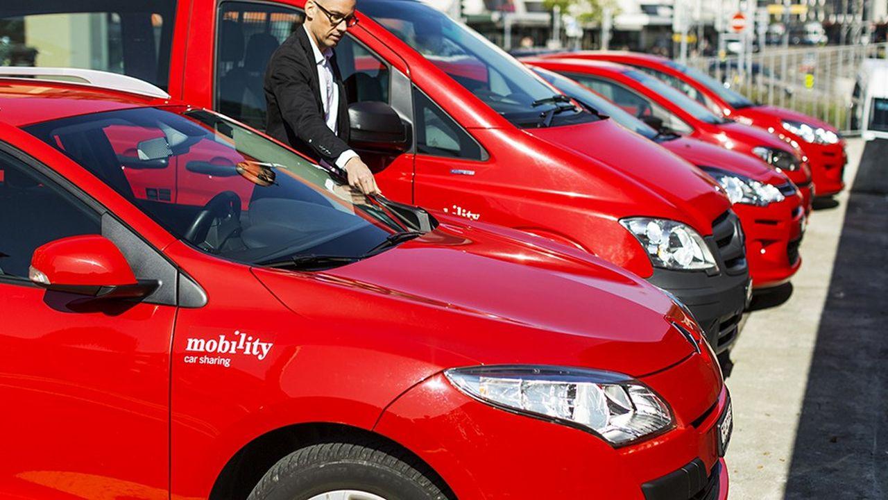Le service helvète d'autopartage compte 177.000 clients, dont plus de 4.700 entreprises réparties dans toute la confédération, qui se partagent quotidiennement 2.930 véhicules.