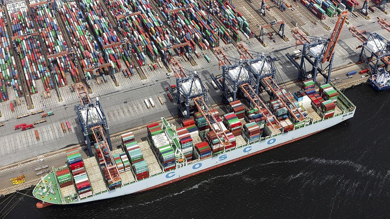 Le Royaume-Uni est le deuxième partenaire commercial du royaume au sein de l'Union européenne, derrière l'Allemagne (photo: le port de Rotterdam).