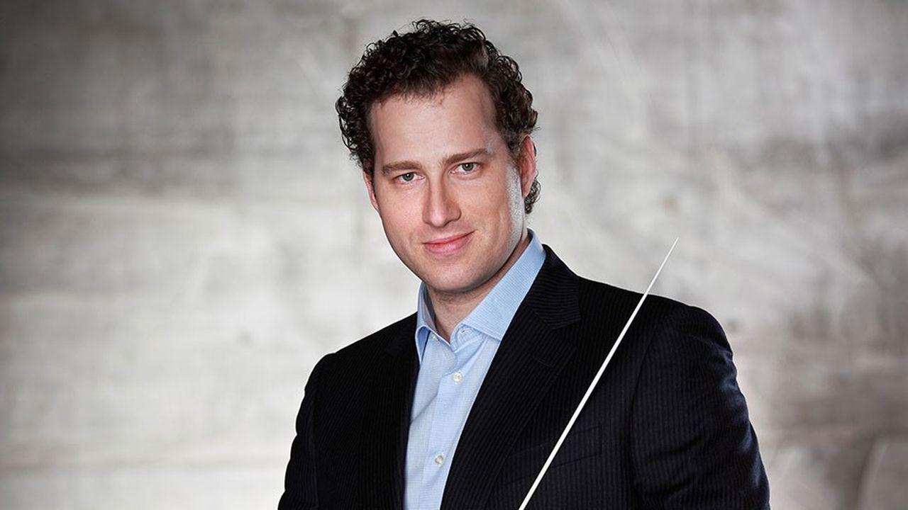 Nikolaj Szeps-Znaidervioloniste et chef d'orchestre danois de 43 ans succède à l'Américain Leonard Slatkin à la tête de l'orchestre de Lyon.