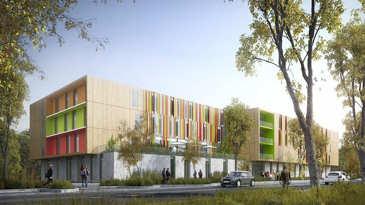 Après presque deux ans de travaux, le bâtiment aura une capacité de 108 places dont 12 en accueil de jour.