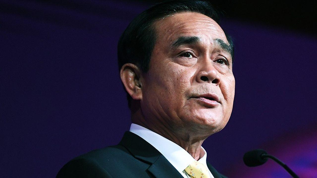 Le général devenu Premier ministre, Prayut Chan-O-Cha est à la tête de la Thaïlande depuis quatre ans.