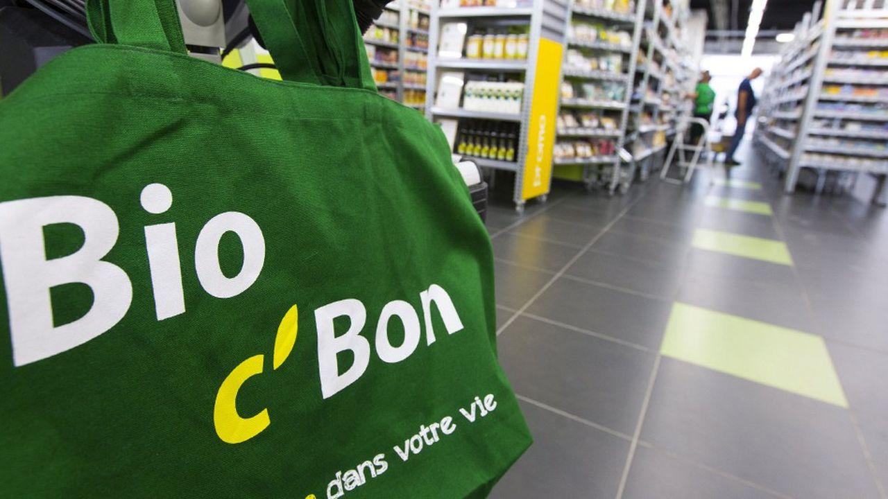 Bio C Bon exploite 123 points de vente en France.