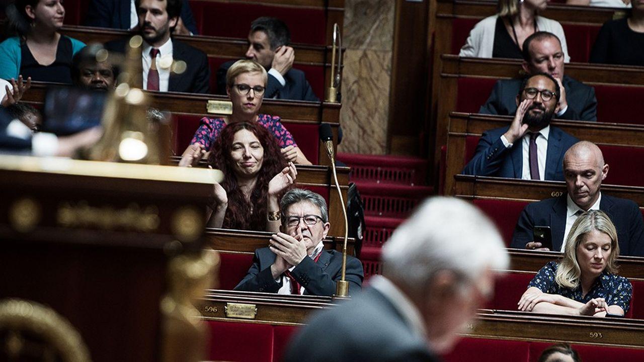 La gauche avait déposé une motion de censure commune en juillet dernier, lors de l'affaire Benalla