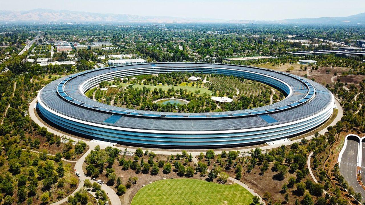 Le siège de la firme Apple, à Cupertino (Californie).