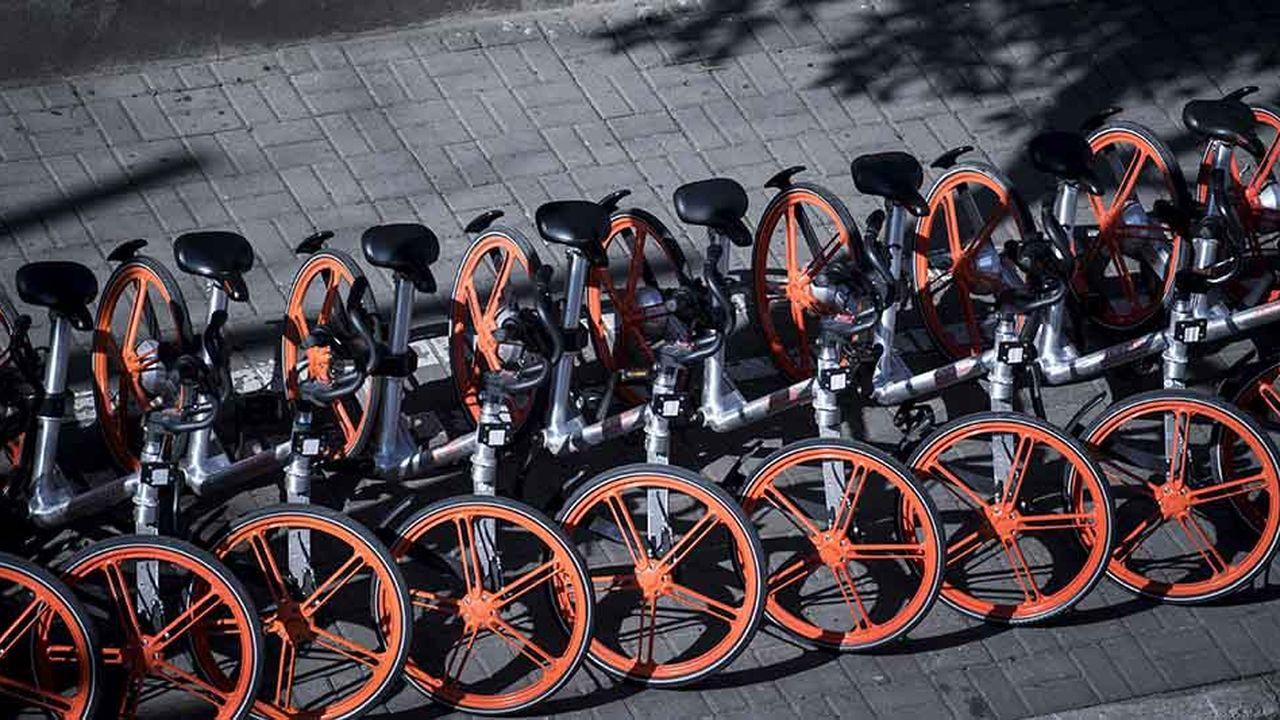 Présent notamment à Paris depuis janvier2018, Mobike exploite 200.000 vélos dans six pays européens