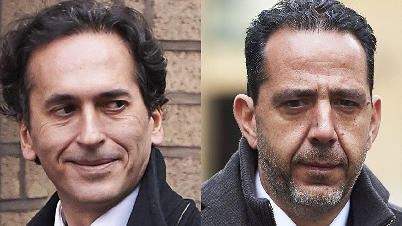 Sur les onze ex traders mis en cause dans le procès Euribor, les Français Philippe Moryoussef et Christian Bittar sont les seuls condamnés à des peines de prison par la justice britannique.