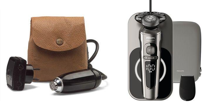 79 ans séparent le premier rasoir électrique Philips de 1939 et le S9.000 Prestige sorti récemment. La marque en a vendu un milliard au total.