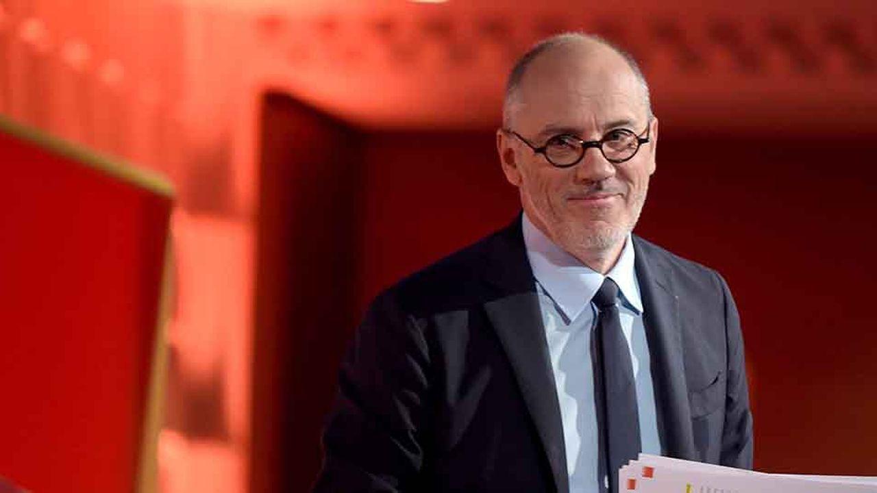 Stéphane Richard, le patron d'Orange, présentait les innovations de l'opérateur ce mercredi lors du traditionnel Show Hello, à la Défense