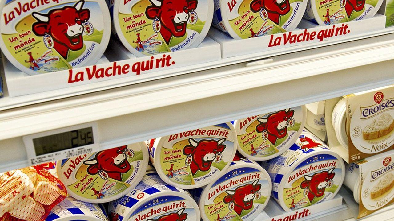 Bel achètera son lait 371euros la tonne pendant un an.