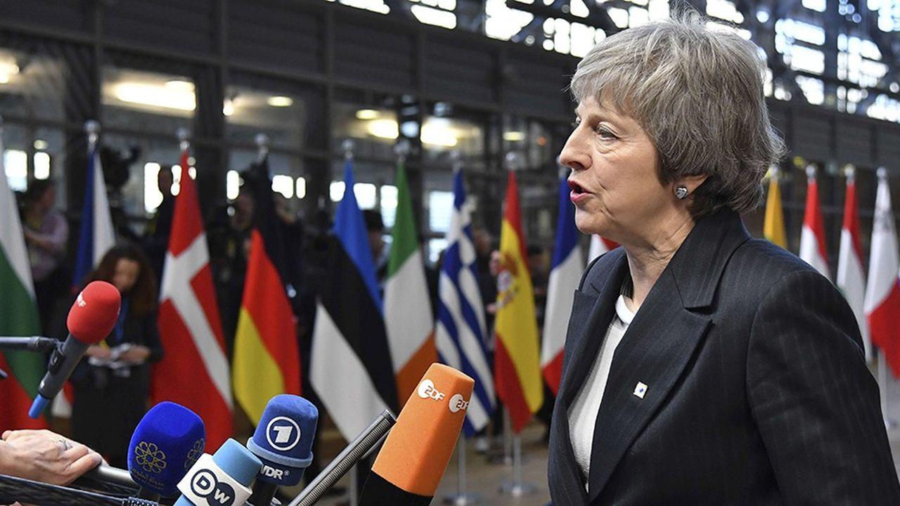 Theresa May à Bruxelles