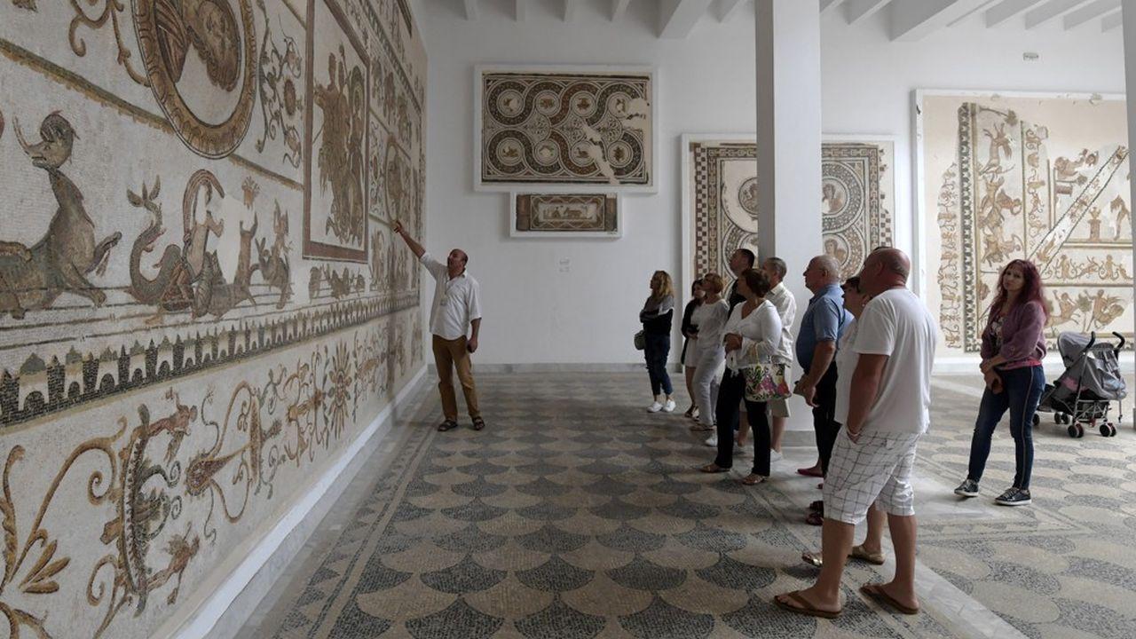 Les touristes sont de retour en Tunisie. Ici au musée du Bardo, près de Tunis, en octobre dernier. L'établissementavait fait en mars2015 l'objet d'une attaque terroriste.
