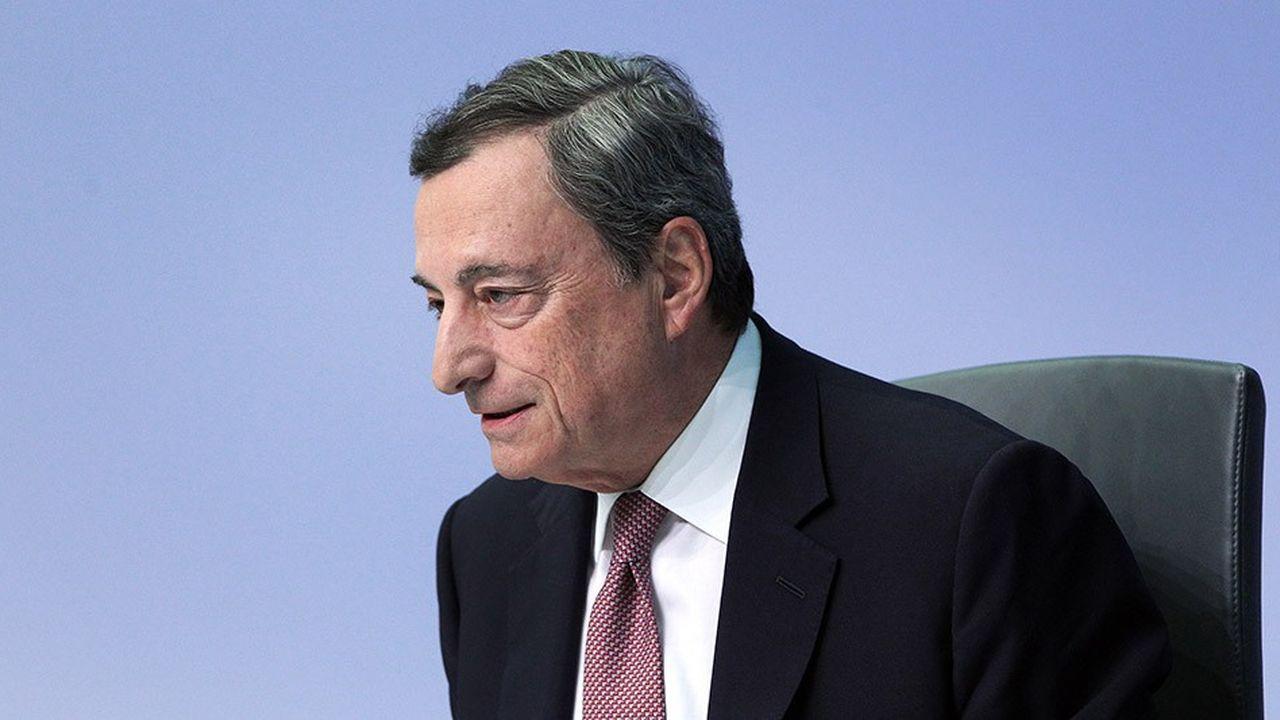 Mario Draghi, président de la Banque centrale européenne (BCE), quittera ses fonctions en octobre2019.
