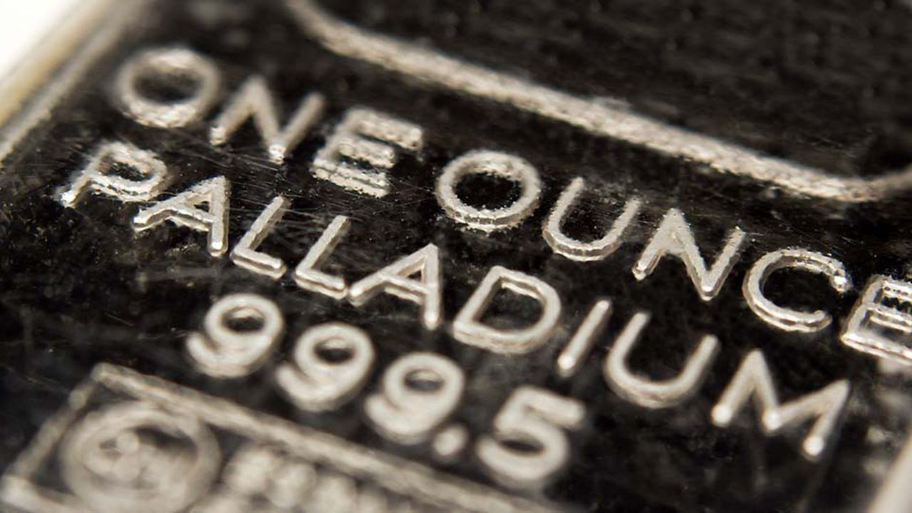 Le prix de l'once de palladium a presque triplé depuis janvier2016.