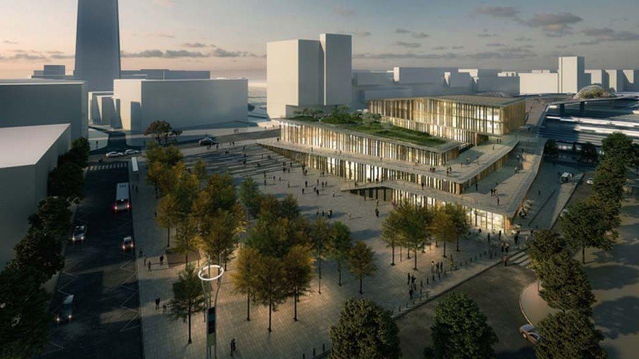 La gare située sur la future ligne 17 du métro du Grand Paris Express est indispensable à la réalisation du projet EuropaCity.