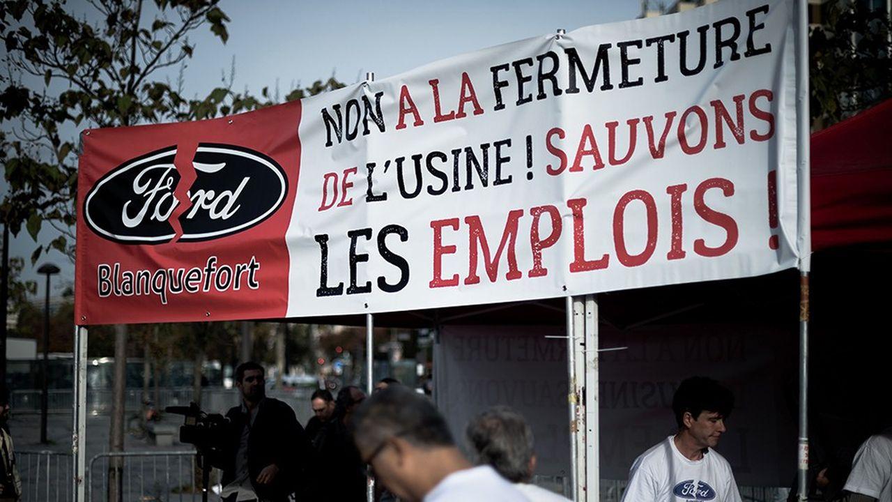 La perspective d'une fermeture de l'usine de transmissions de Ford à Blanquefort, près de Bordeaux (Gironde), remonte à plusieurs mois.