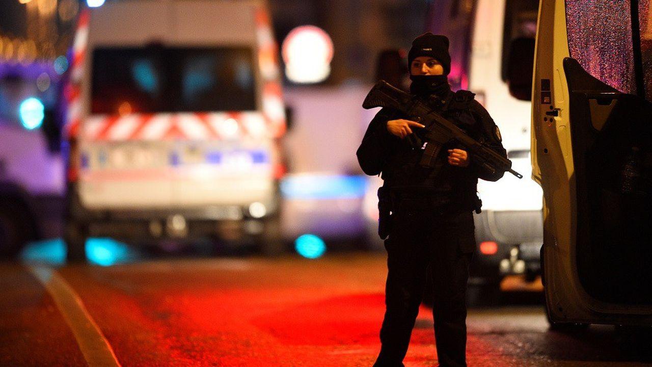 Un dispositif de police très important avait été déployé dans Strasbourg.