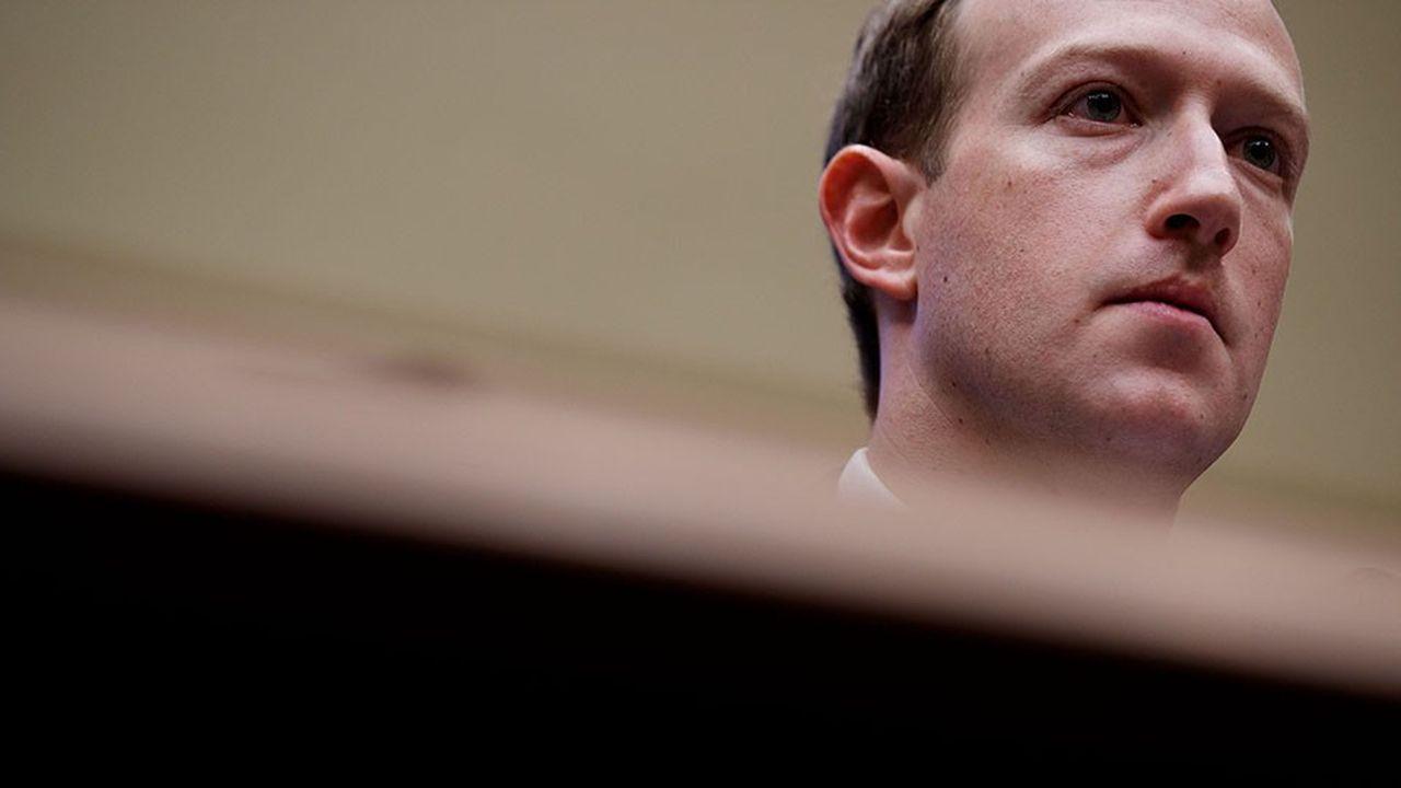 Le groupe de Mark Zuckerberg (photo) est sous le feu des critiques depuis le début de l'année.