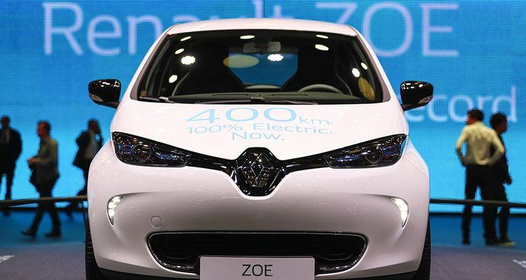 La Renault Zoe au salon automobile de Paris en 2016