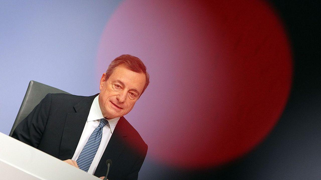 La BCE, présidée par Mario Draghi, a précisé les modalités de réinvestissements des montants remboursés après l'arrêt de son programme d'achat.