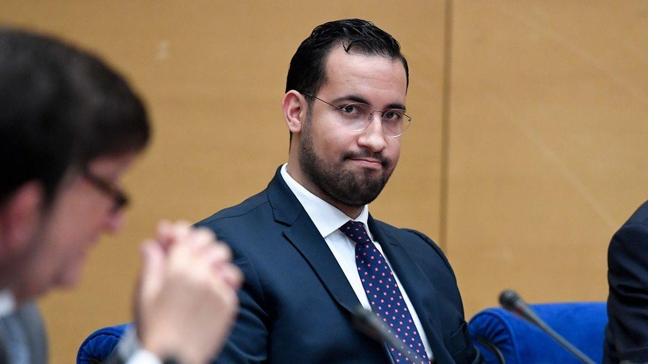 Alexandre Benalla lors de son audition devant le Sénat le 19septembre 2018.