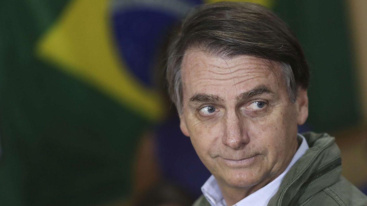 Jair Bolsonaro, le président élu du Brésil.