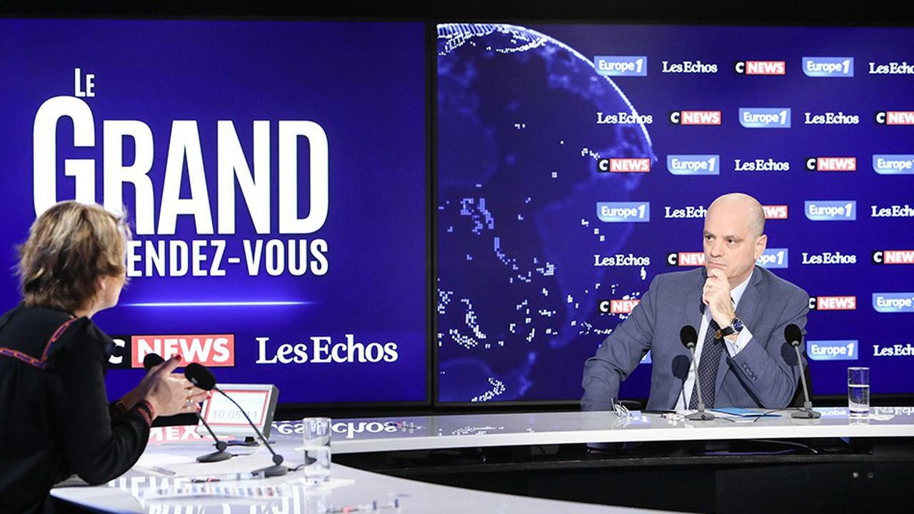 «Le grand rendez-vous» avec Jean-Michel Blanquer, ministre de l'Education nationale et de la jeunesse.