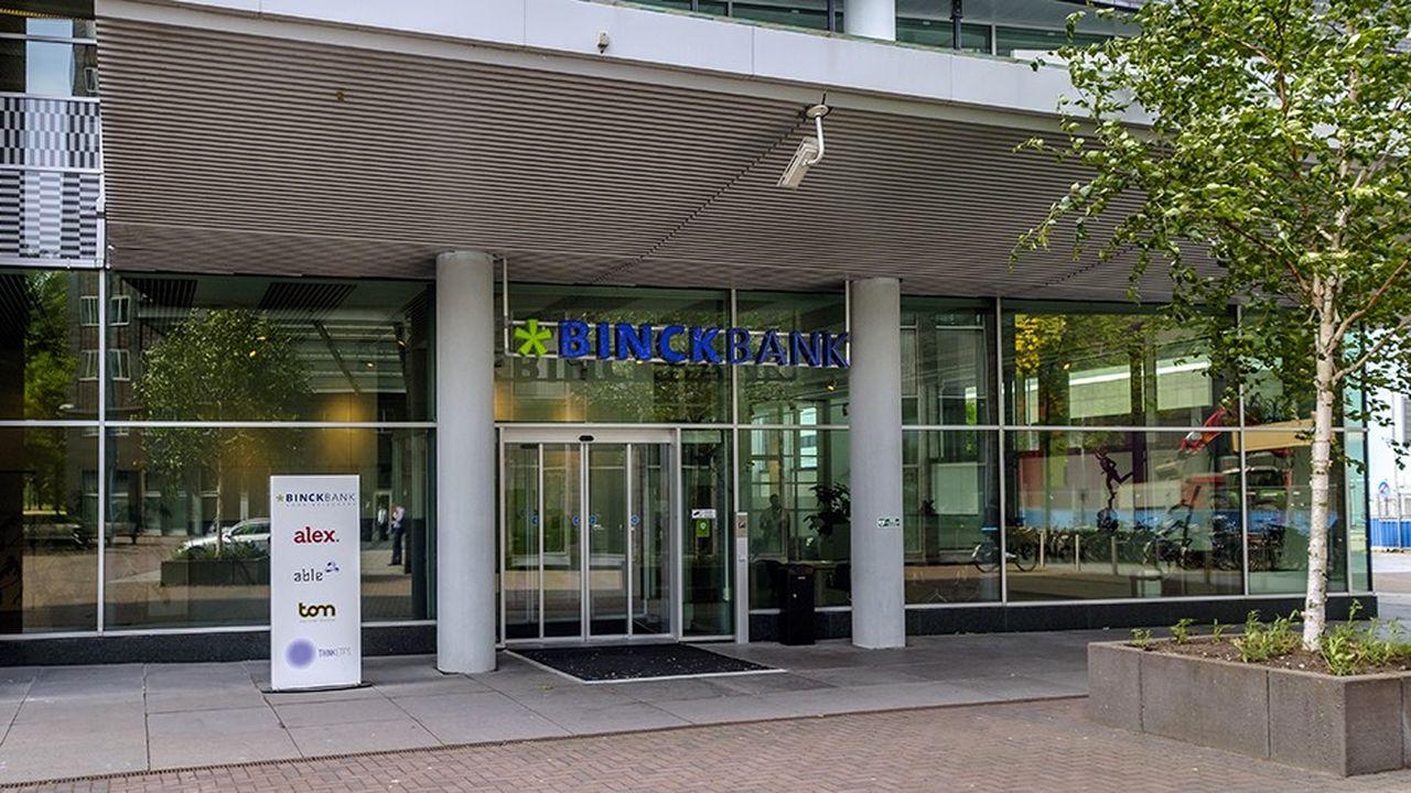 Le spécialiste du courtage en ligne néerlandais BinckBank possède des filiales en Belgique, en Italie, en Espagne et en France, où il comptait 67.000 clients fin 2017.