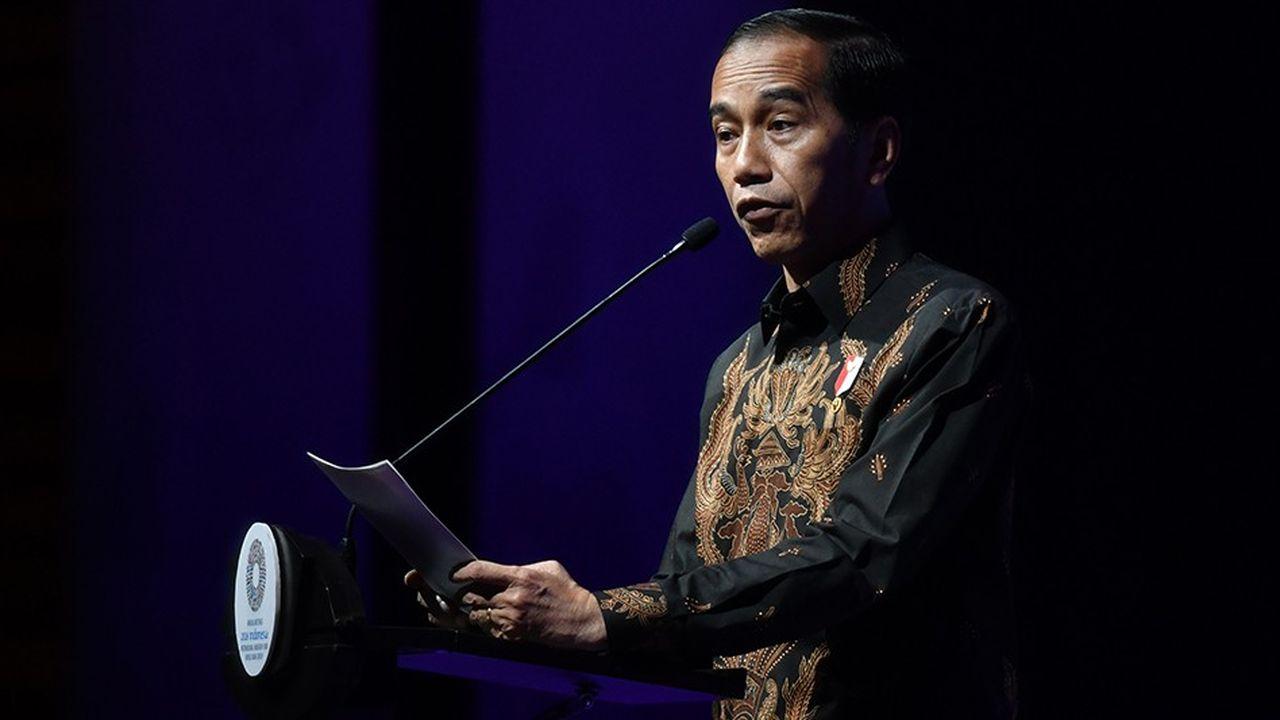 Joko Widodo a décidé de briguer un deuxième mandat pour un scrutin prévu en avril2019.