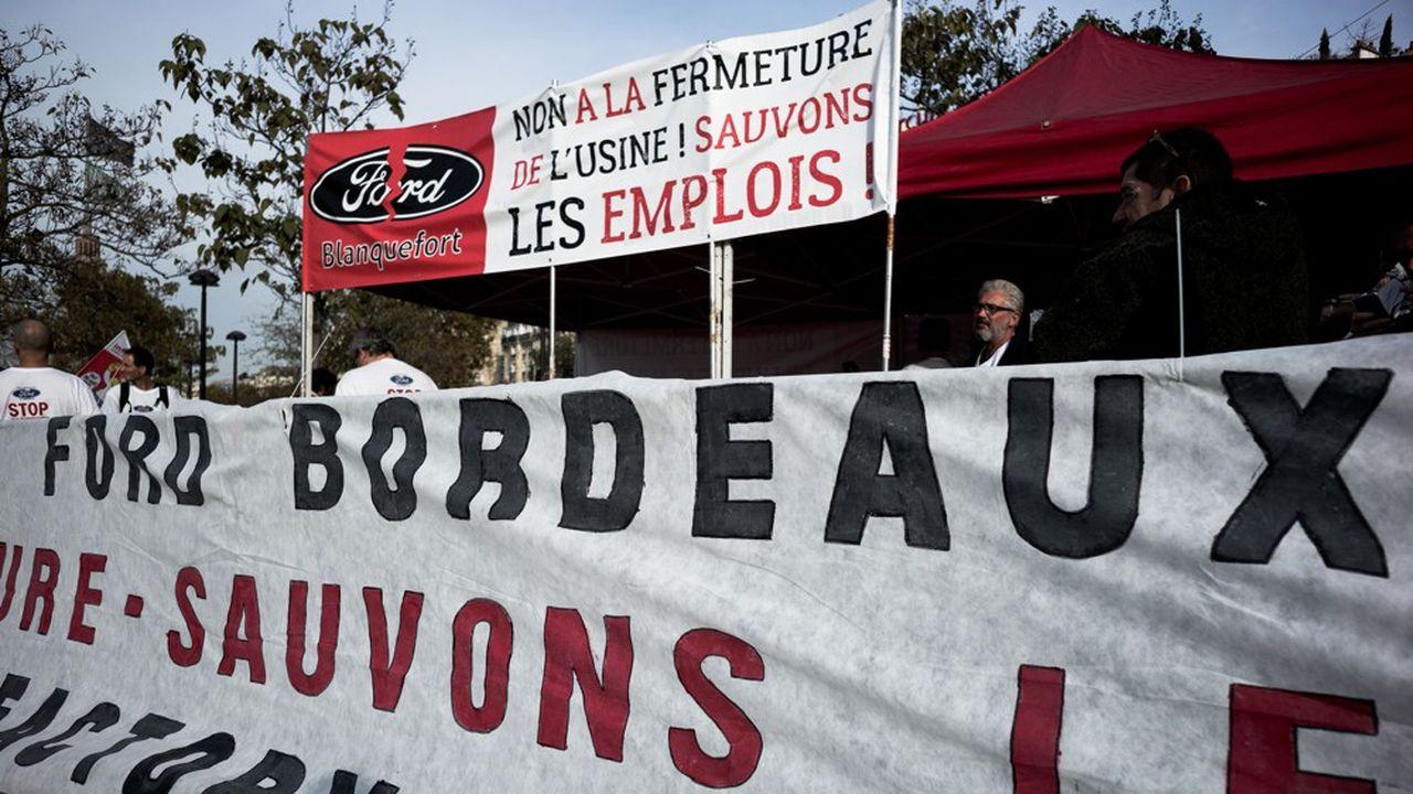 Ford n'a pas retenu la proposition de Punch Powerglide pour la reprise du site industriel de BlanquefortUne trentaine d'ouvriers de l'usine de Blanquefort, à côté de Bordeaux.