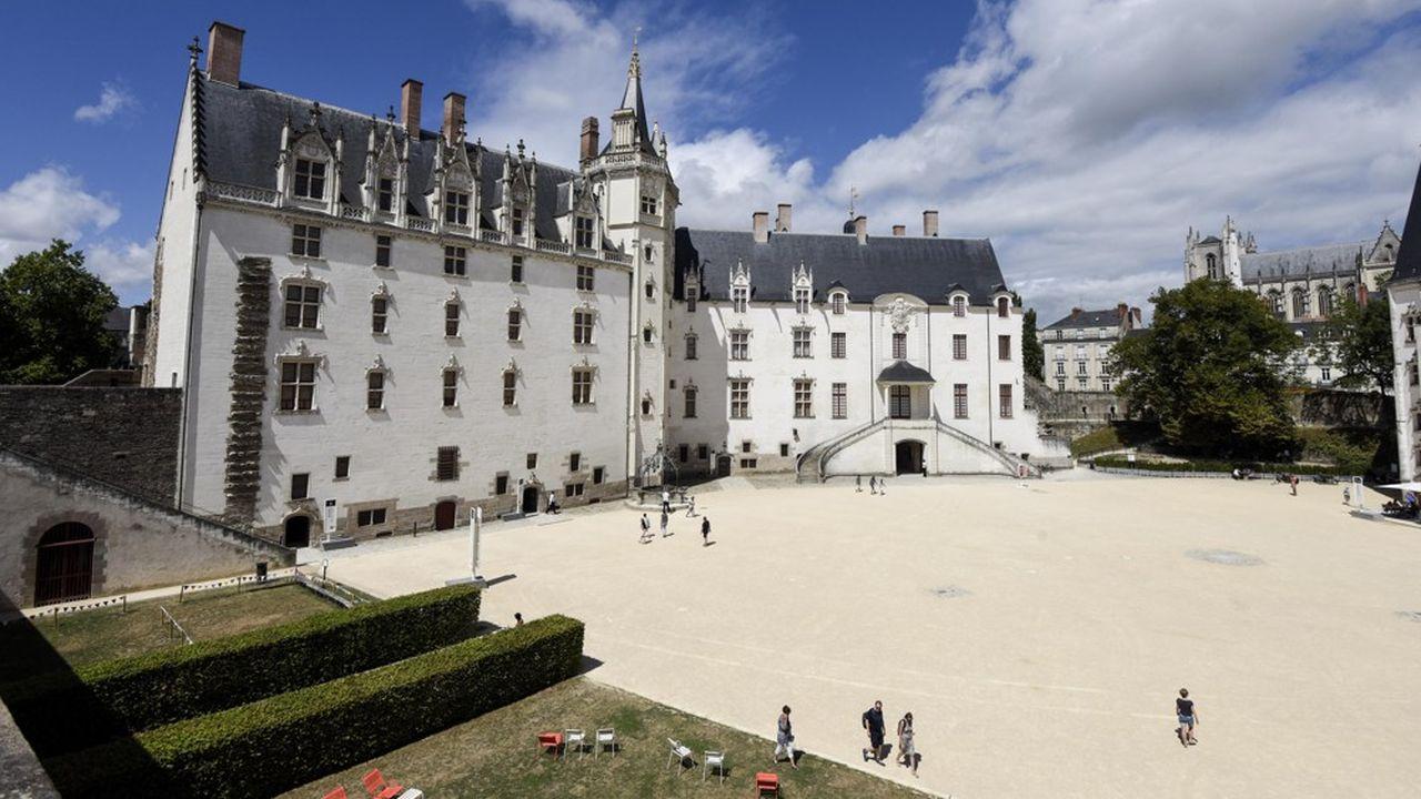 Le château des Ducs de Bretagne, à Nantes.