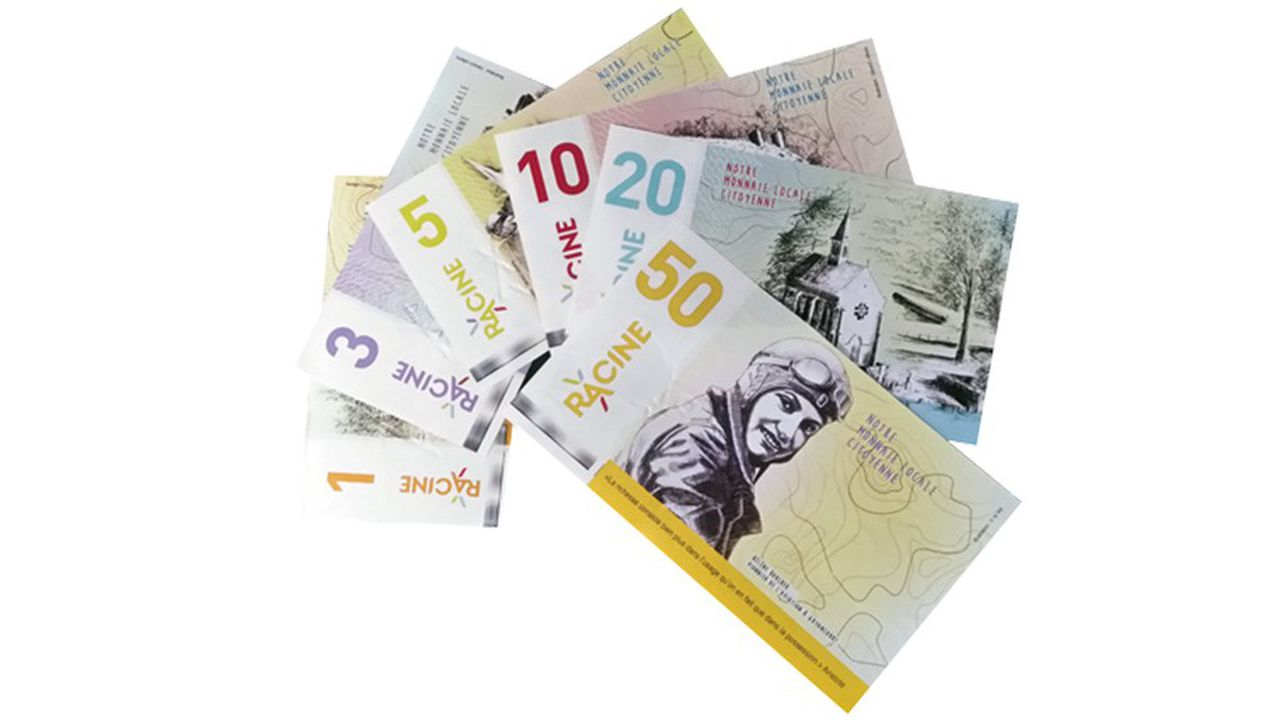 Les billets, fabriqués par un imprimeur avec du papier bancaire filigrané et sécurisé (6 niveaux de protection) possèdent la même valeur que l'euro.