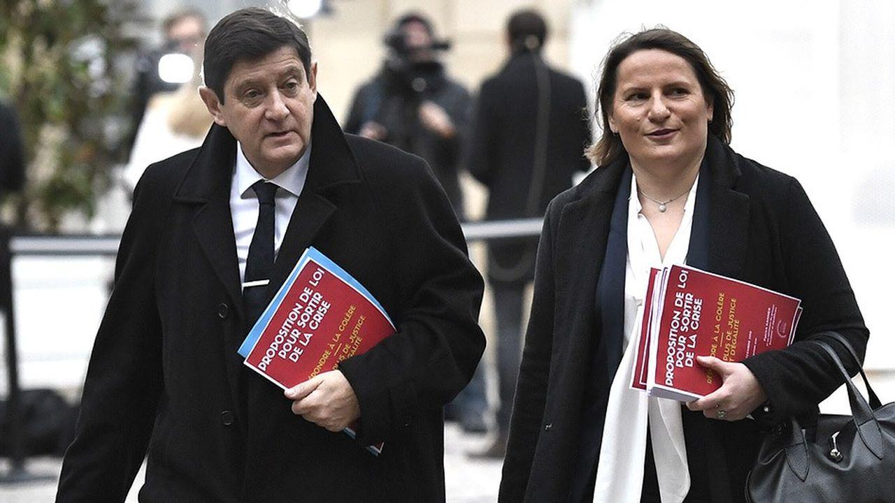 Patrick Kanner et Valérie Rabault avaient présenté au Premier ministre début décembre, avec Olivier Faure, leurs propositions pour «sortir de la crise» des «gilets jaunes».