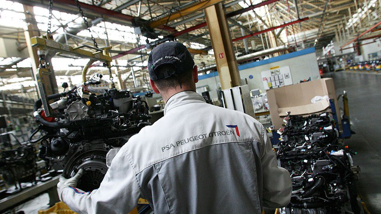 A Trémery, une énorme usine de moteurs diesel, PSA prépare la production de moteurs électriques.