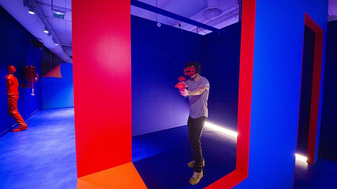Ouvert depuis mi-décembre, le parc est entièrement dédié à la réalité virtuelle