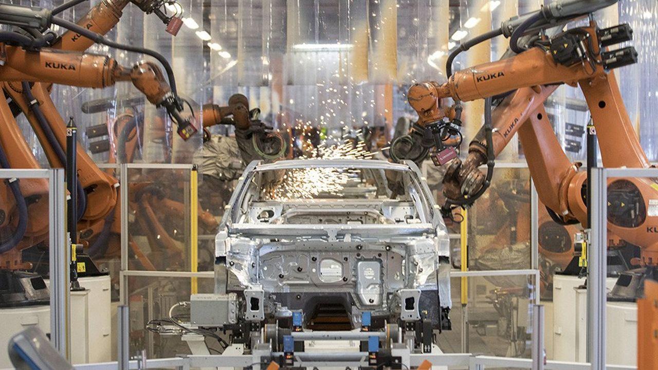 Le constructeur automobile Volkswagen a consacré 13milliards d'euros à la R&D dans ses usines entre2017 et2018.