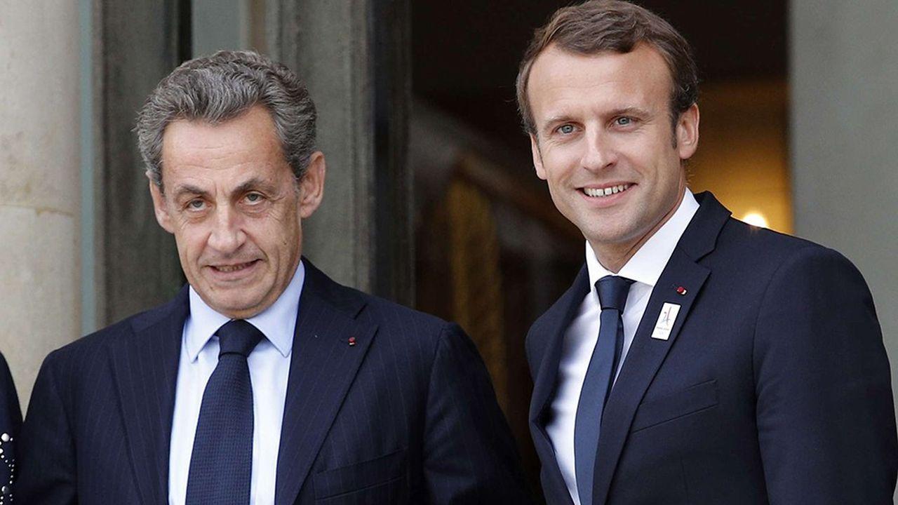 L'Elysée évoque des relations «républicaines» entre Nicolas Sarkozy et Emmanuel Macron.